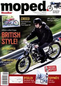 Tidning Klassiker Moped nr.4 2017