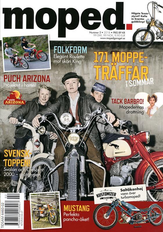 Tidning Klassiker Moped nr.2 2018