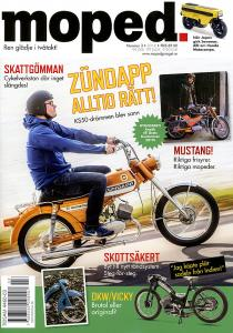 Tidning Klassiker Moped nr.3 2018