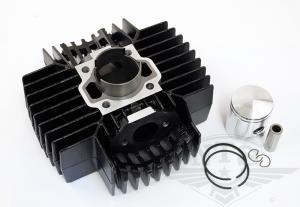 Cylinder Puch Monza mfl 40mm svart