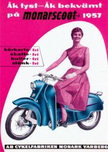 Poster Monarscoot 50x70cm
