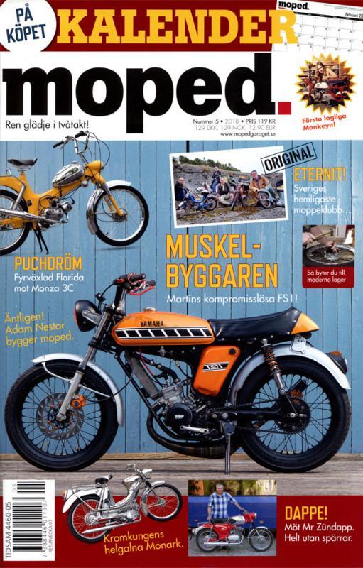 Tidning Klassiker Moped nr.5 2018