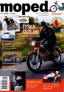 Tidning klassiker moped nr.3 2019