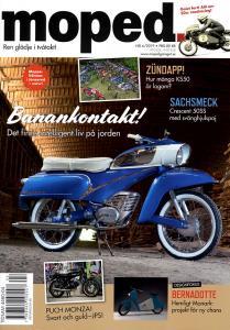 Tidning klassiker moped nr.4 2019