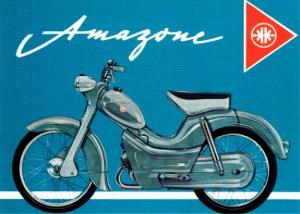 Poster Kreidler Amazone 50x70cm