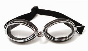 Glasögon klart glas svarta Goggles