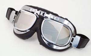 Goggles silver glas