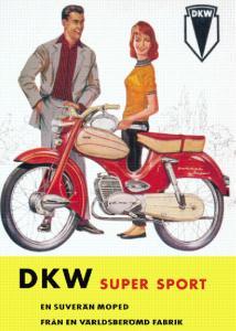 Poster DKW supersport 50x70cm