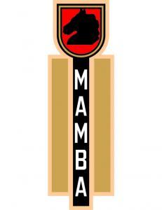 Dekal tanklock Mustang Mamba 73-81