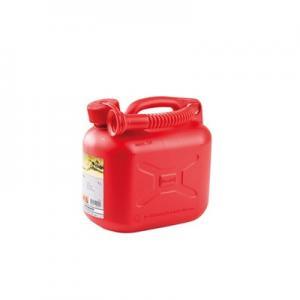 Bensindunk 5 liter röd
