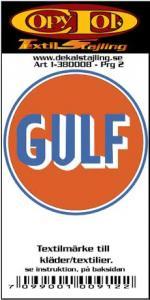 Textilmärke Gulf