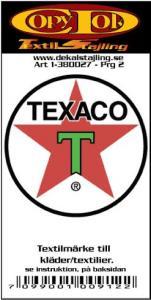 Textilmärke Texaco