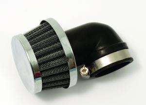 Luftfilter Uni. böjt 90gr 30mm Universal