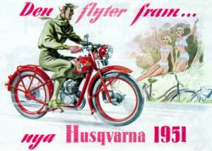 Poster Husqvarna 50x70cm