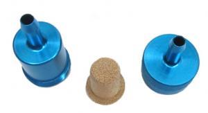 Bensinfilter Blå tvättbart 6mm Universal