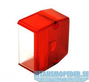 Baklampsglas Flakmoped lyse 1187