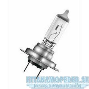 Glödlampa H7 12V 55W vit