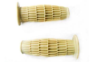 Handtag Majskolv Cream 22/24mm 1 par Universal