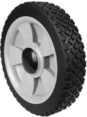 Hjul plast 178mm Universal