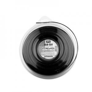 Trimmerlina fyrkant alucutline 2,0mm 116 meter