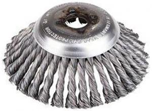 Cirkulärborste 200x25.4mm kupad (ogräsborste)
