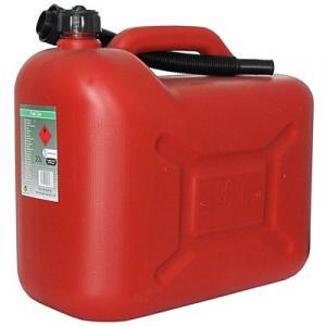 Bensindunk röd 20 liter