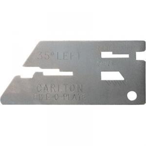 "File O Plate 4.5mm 11/64"""