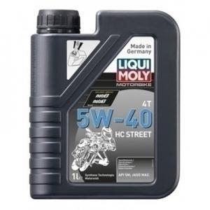 Motorolja Liqui Moly 5w40 HC Street 1liter