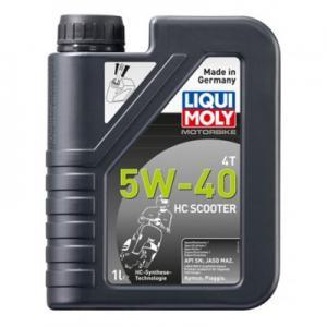 Motorolja Liqui Moly 4T 5w-40 HC 1liter