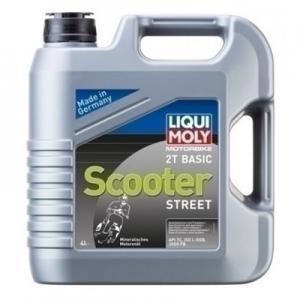 Tvåtaktsolja Liqui Moly Basic Scooter 4liter