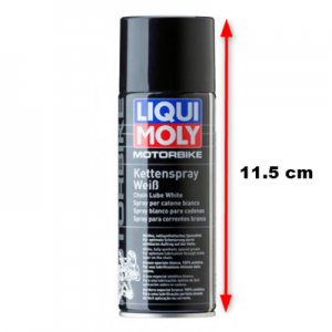 Kedjespray Liqui Moly vit 50ml