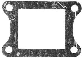 Membranpackning Yamaha DT mfl.