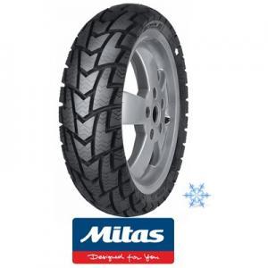 "Vinterdäck 100/80-17"" Mitas Mc32 62R dubbfritt"