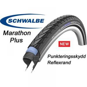 """Däck 20x1.75"""" (47-406) Schwalbe Marathon Plus"""