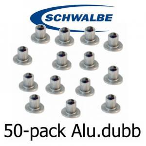 Dubbsats (50st) Aluminiumdubb Schwable