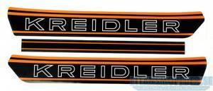 Dekalsats svart/orange Kreidler
