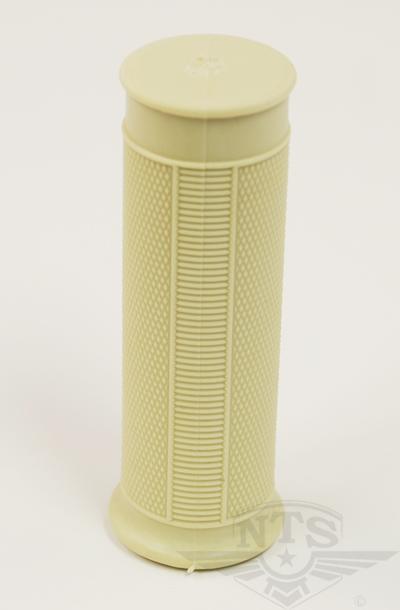 Gummihandtag Beige 24x100mm Universal