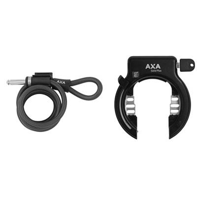 Ramlås Axa med wire Solid XL plus