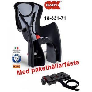 Barnsits Bodyguard Svart/Grå