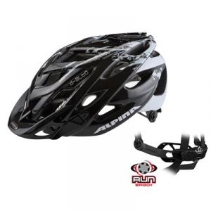 Cykelhjälm Alpina D-alto le MTB  Svart / Vit  5...