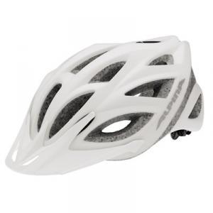 Cykelhjälm Alpina Skid   Vit / Silver  55 - 59