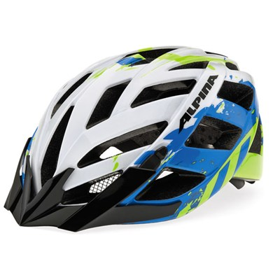 Cykelhjälm Alpina Panoma  Blå / Vit  52 - 57