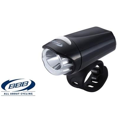 Framlampa BBB EcoBeam 0.3W svart
