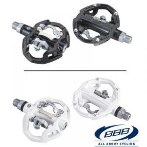 BBB Pedal DualRide  Svart