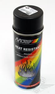 Sprayfärg Svart Värmetålig 400ml Motip