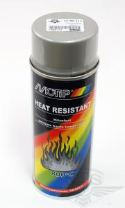 Sprayfärg Silver värmetålig 400ml Motip