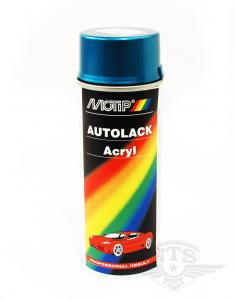 Sprayfärg Metallblå MCB Motip 400ml