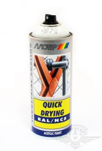 Sprayfärg Vit/Ljusgrå Puch/MCB Motip 400ml