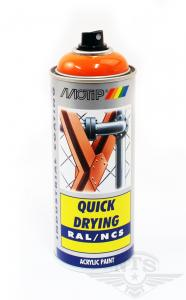 Sprayfärg Orange Puch Motip 400ml