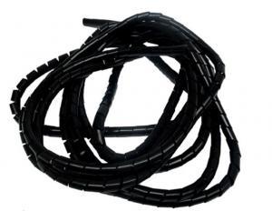 Kabel/Wirehölje svart 8mm 5 meter Universal